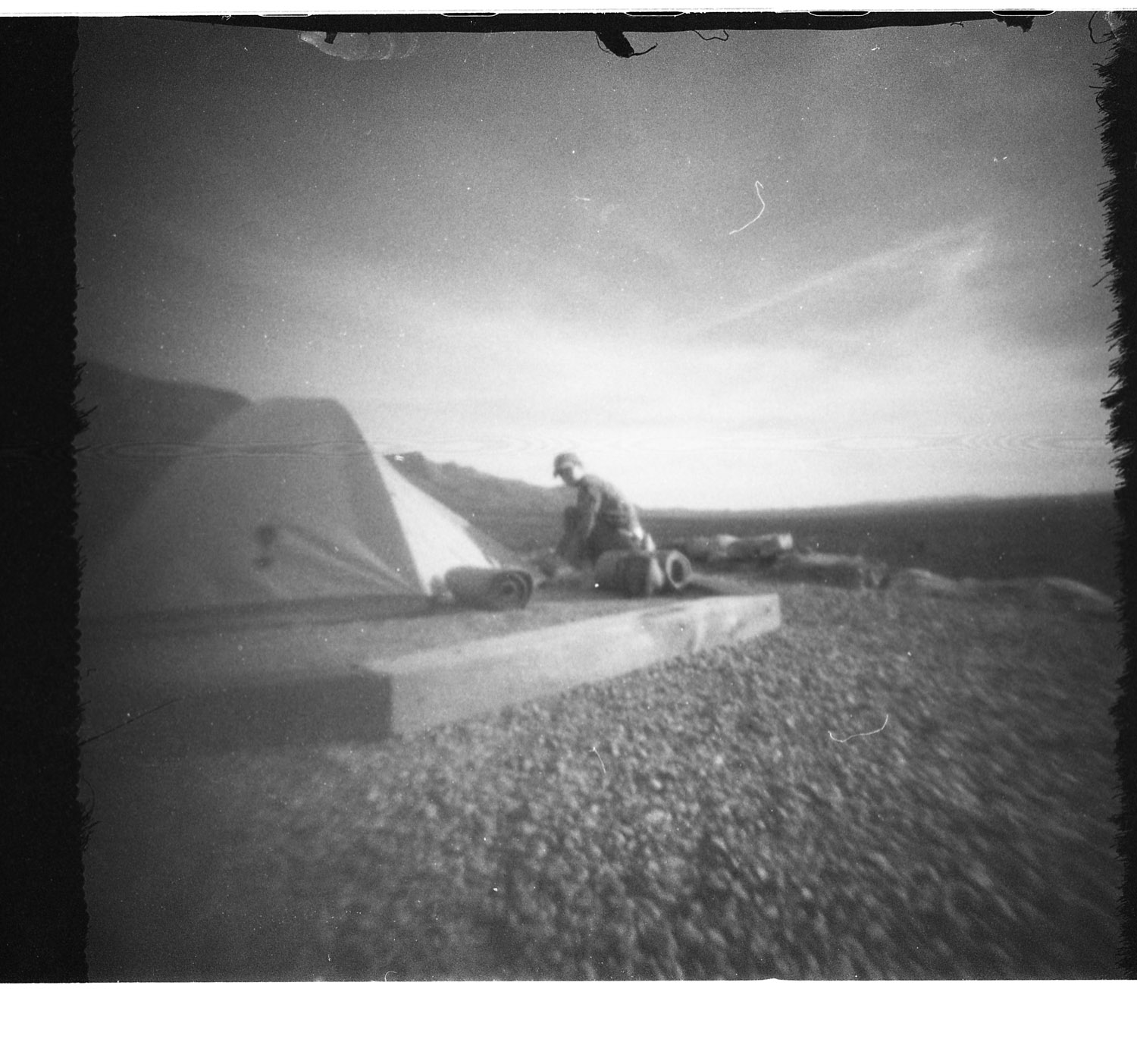 Dog Canyon Campground, outside Alomogordo, NM. Frozen Photon 24Squared pinhole camera