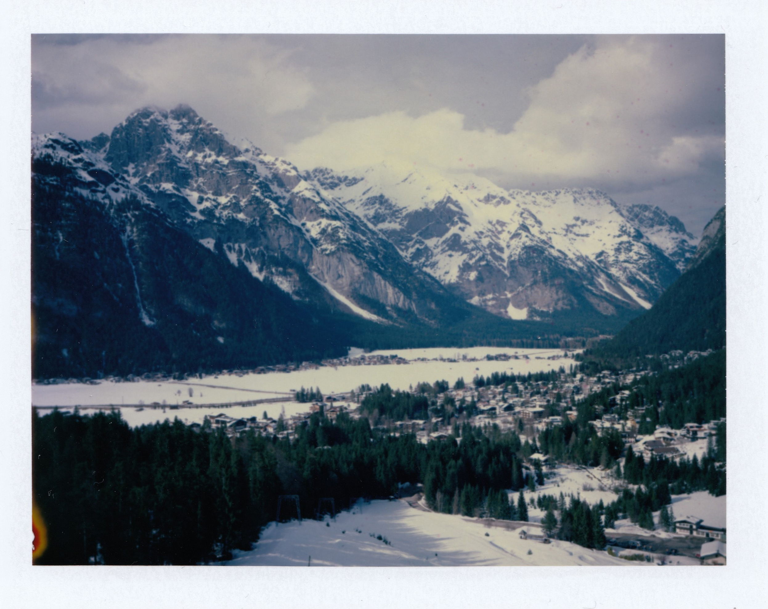 My First Time in Tyrol | Land Camera 350 | FP100c | Ioana Taut