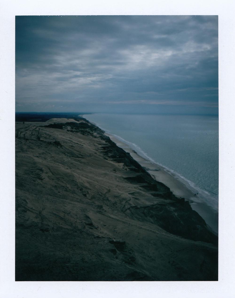 Lighthouse with a View | Polaroid Land 350 | FP-100C | Ioana Tăut