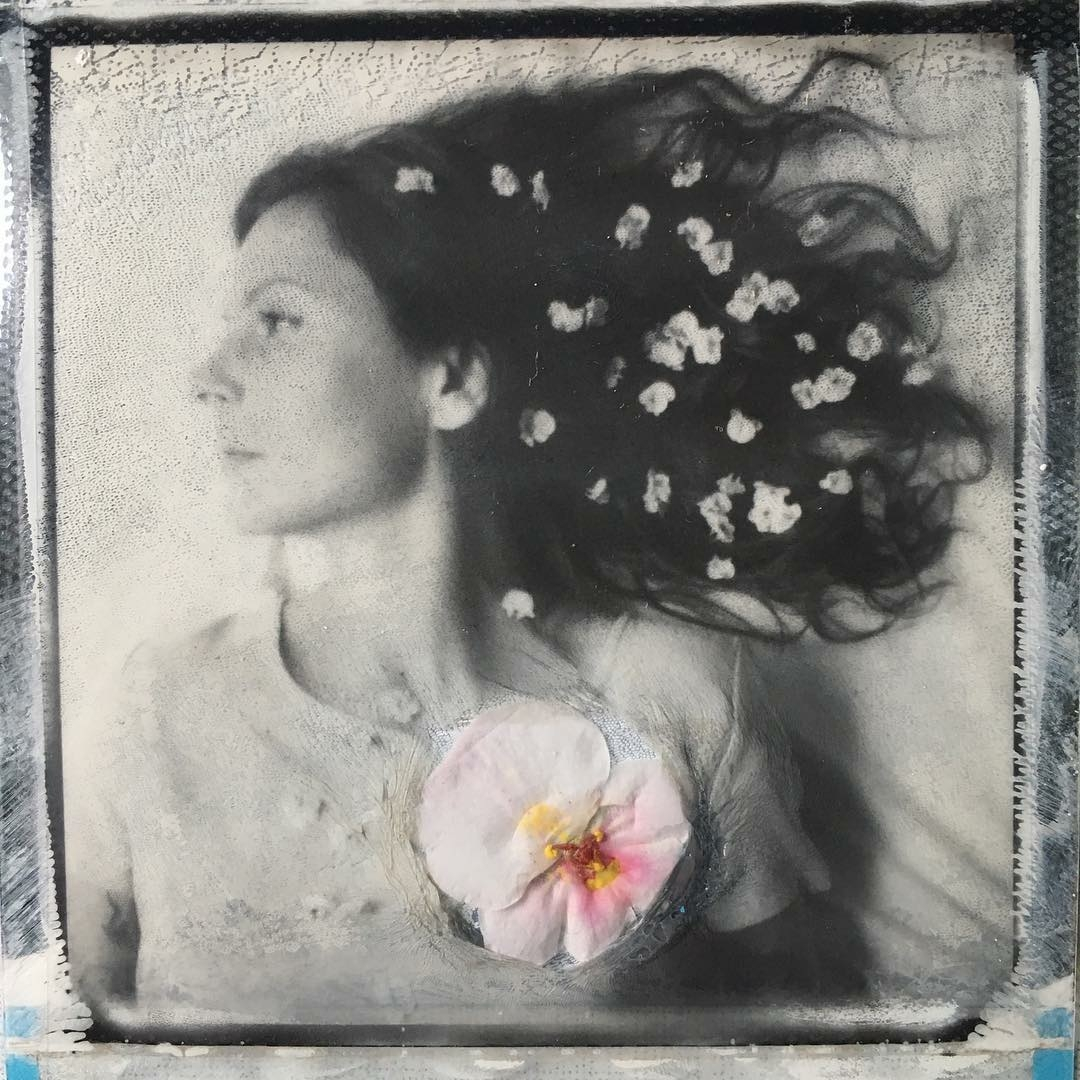 Heartblossom Girl | @jennifer_rumbach_polaroids