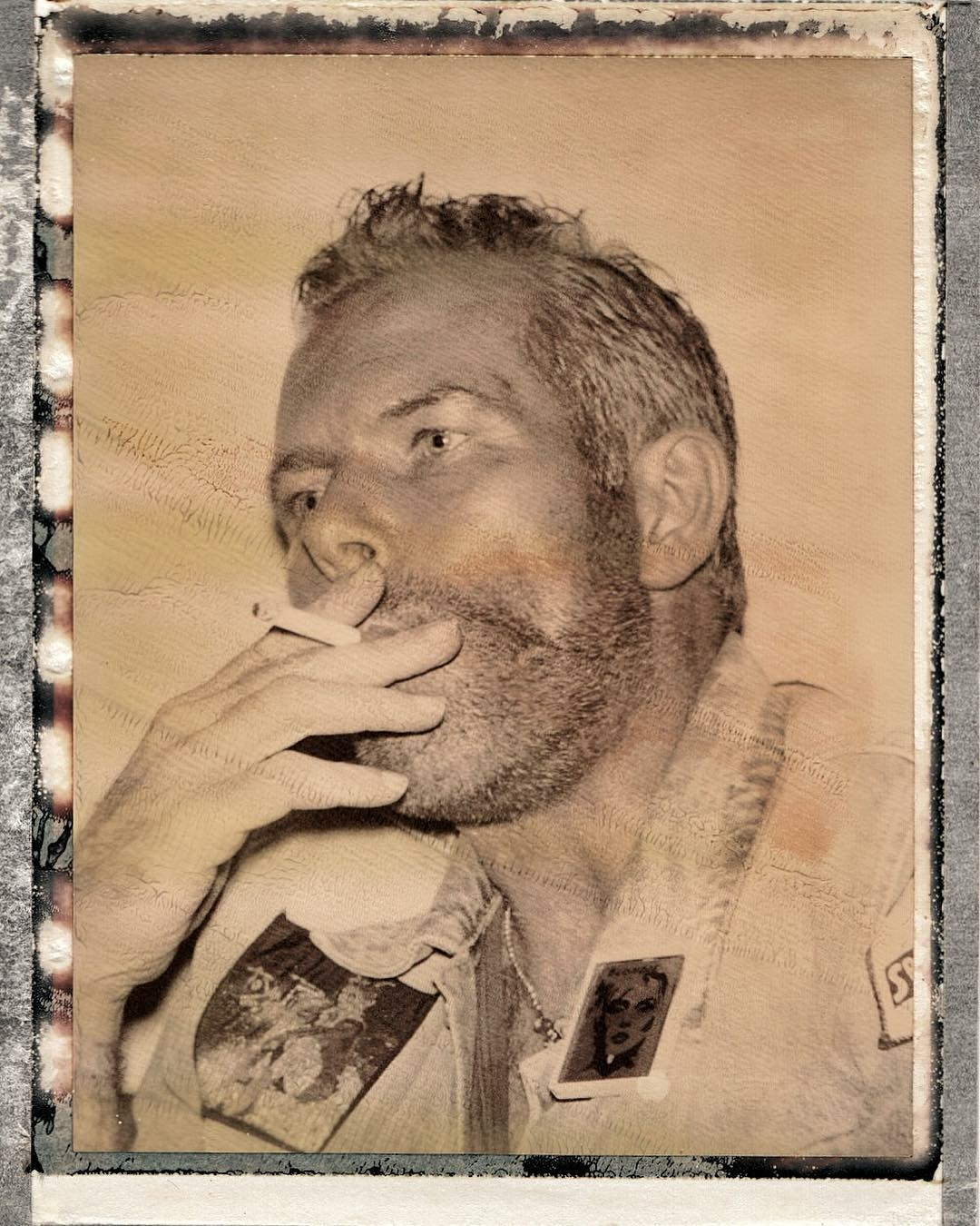 Thomas on very rare Polaroid | @jens_brehm