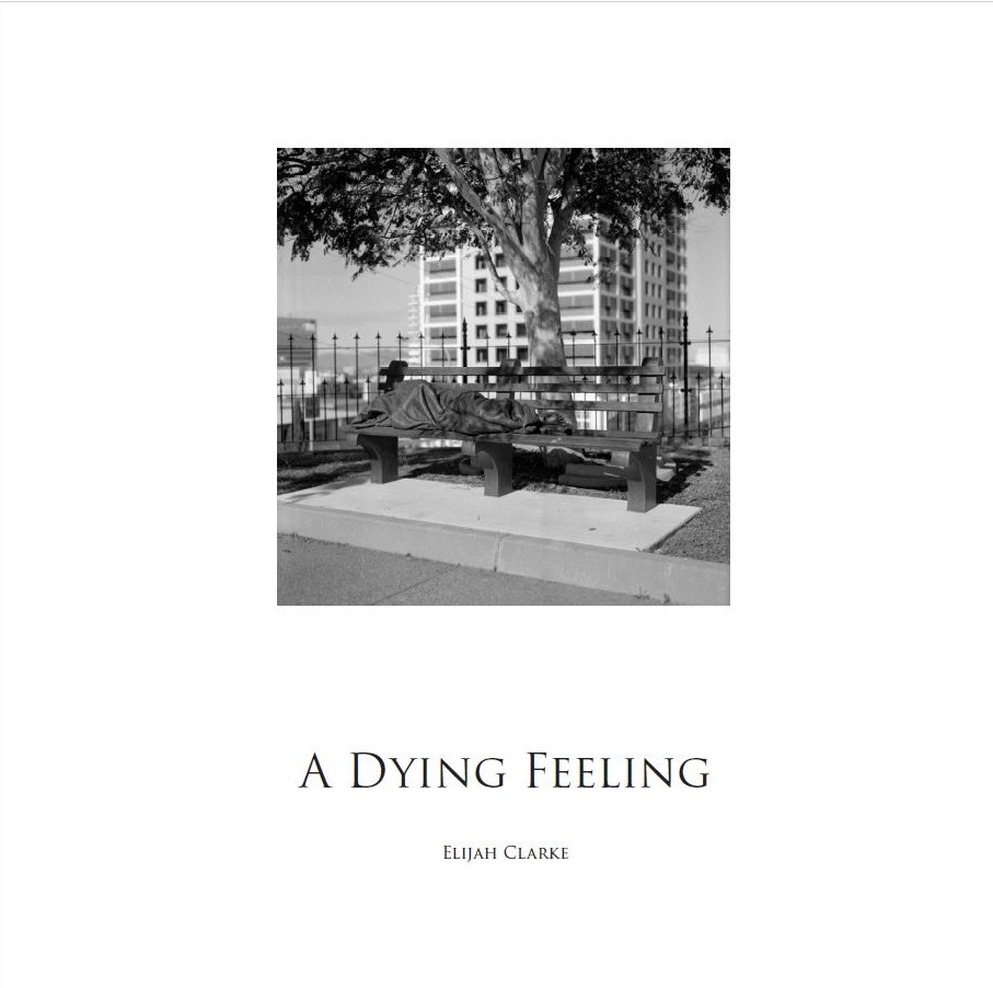 Cover of Elijah's book,  A Dying Feeling