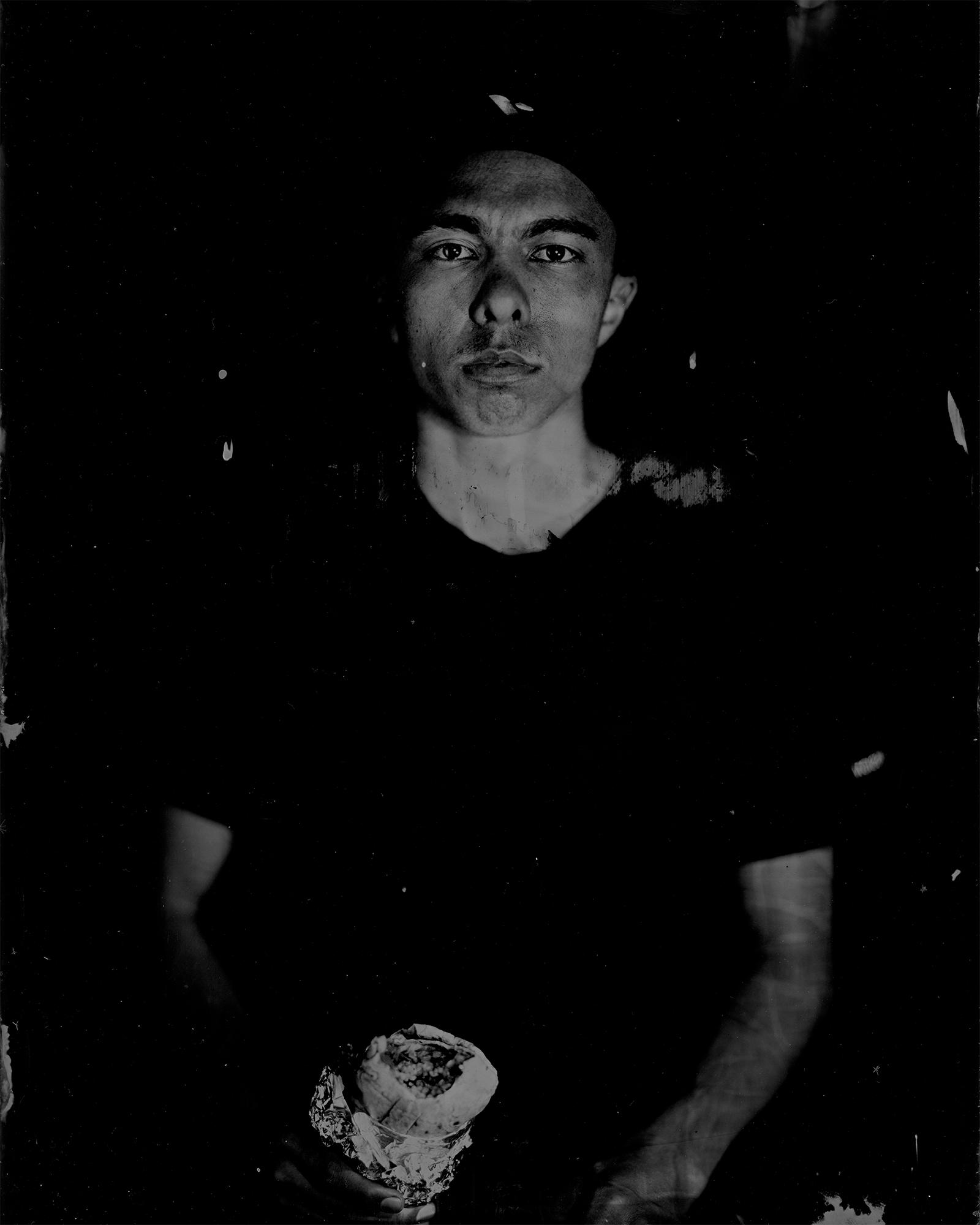 8x10 Tintype by Elijah Clarke, from  Enterprise of Despair