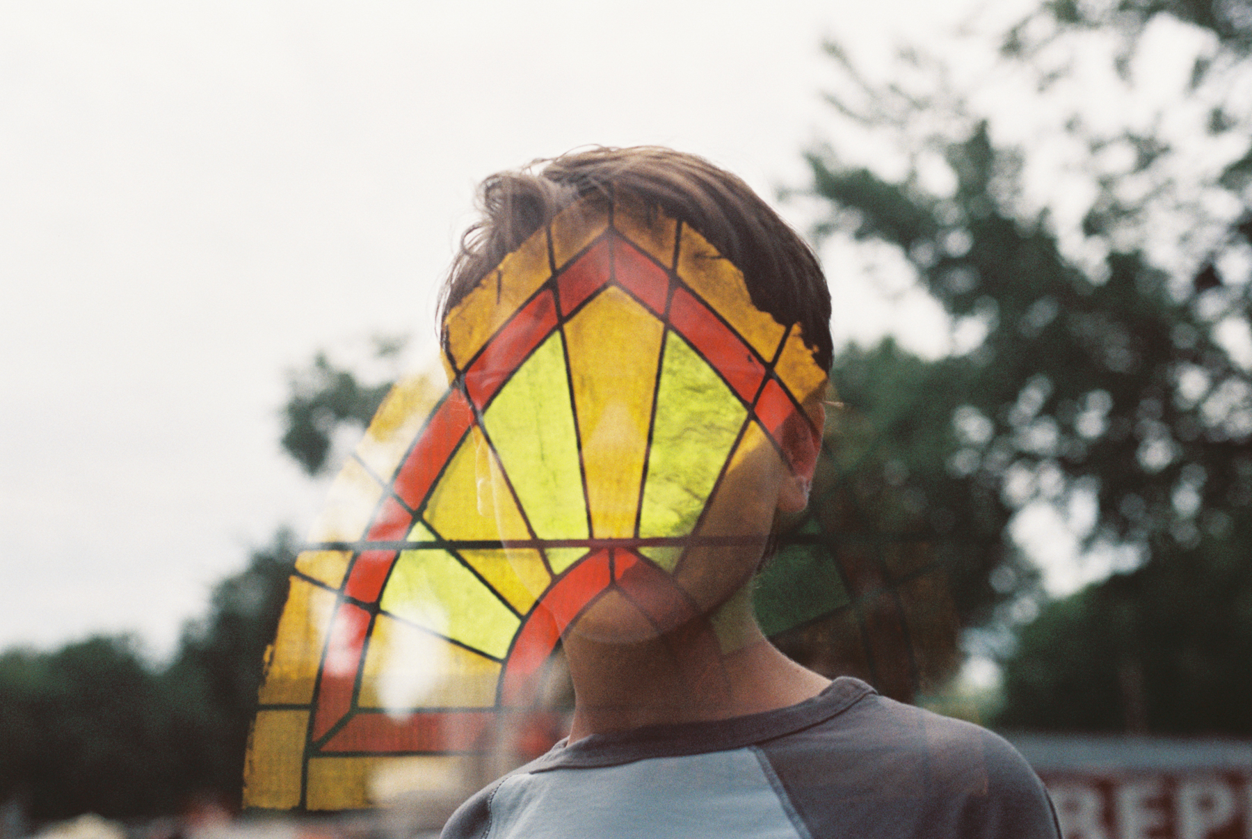 Deborah Candeub - stained glass mask_Nikon F100_Fuji ProPlus200_Deborah Candeub.jpg