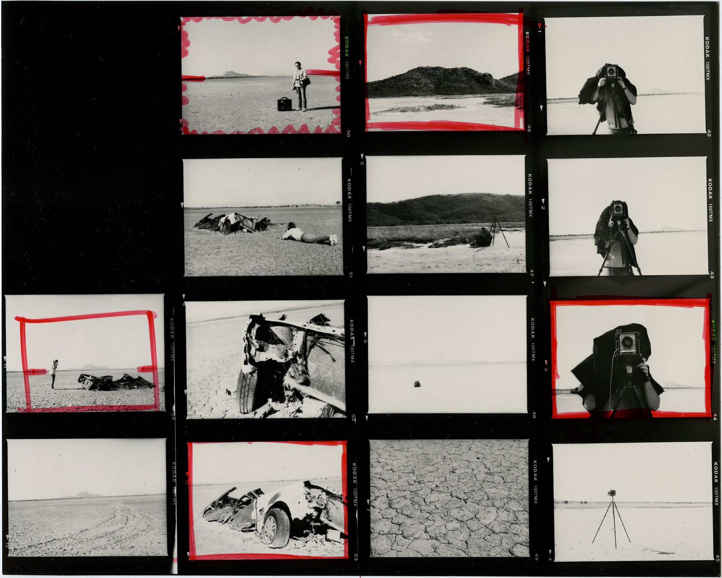 I don't own a scanner that can scan negatives. As a result, all my black and white work is printed in the darkroom. A contact sheet from the Mamiya 645 w/ 80mm f/2.8.