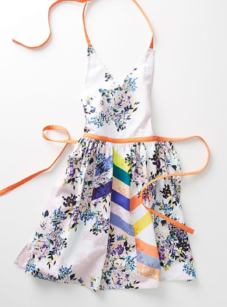 BEST : This apron from Anthropologie is the perfect pop of color that will last even through your longest days of baking! Also a great steal at at $34.00