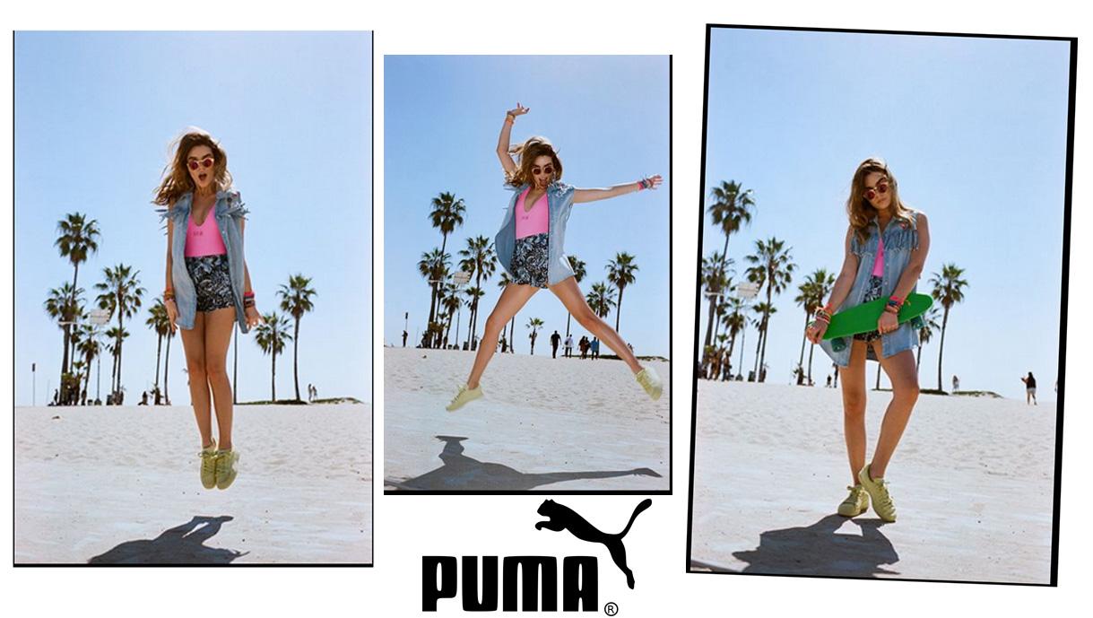 PUMA x NYLON