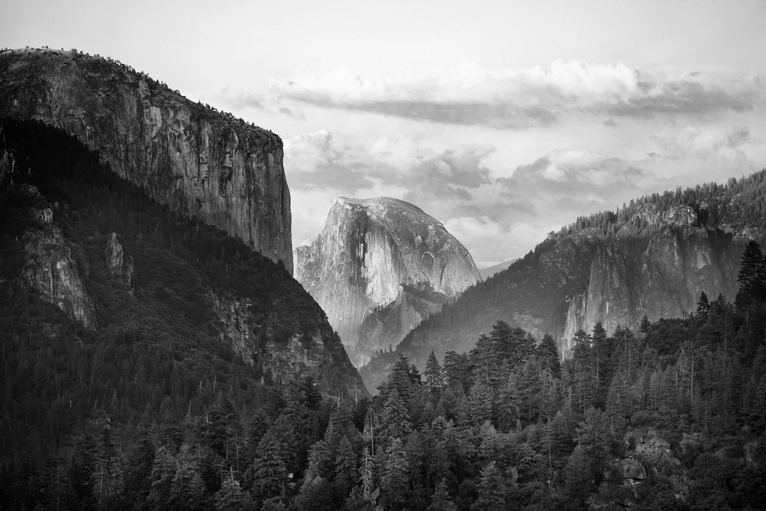 Halfdome: Yosemite National Park L. A. Lewin 2011