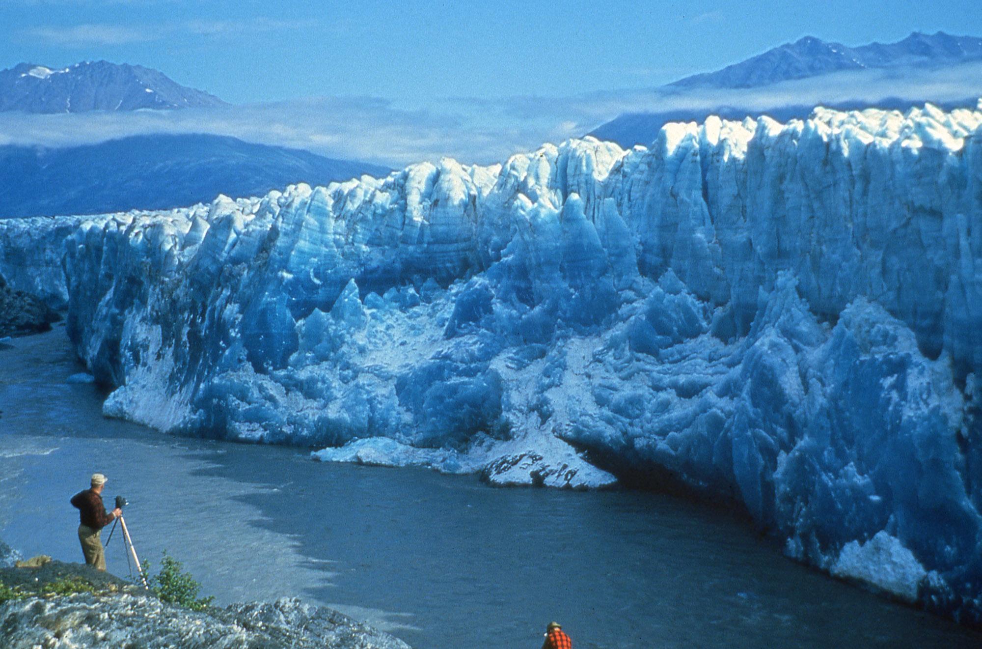 Stewarts at Knik Glacier
