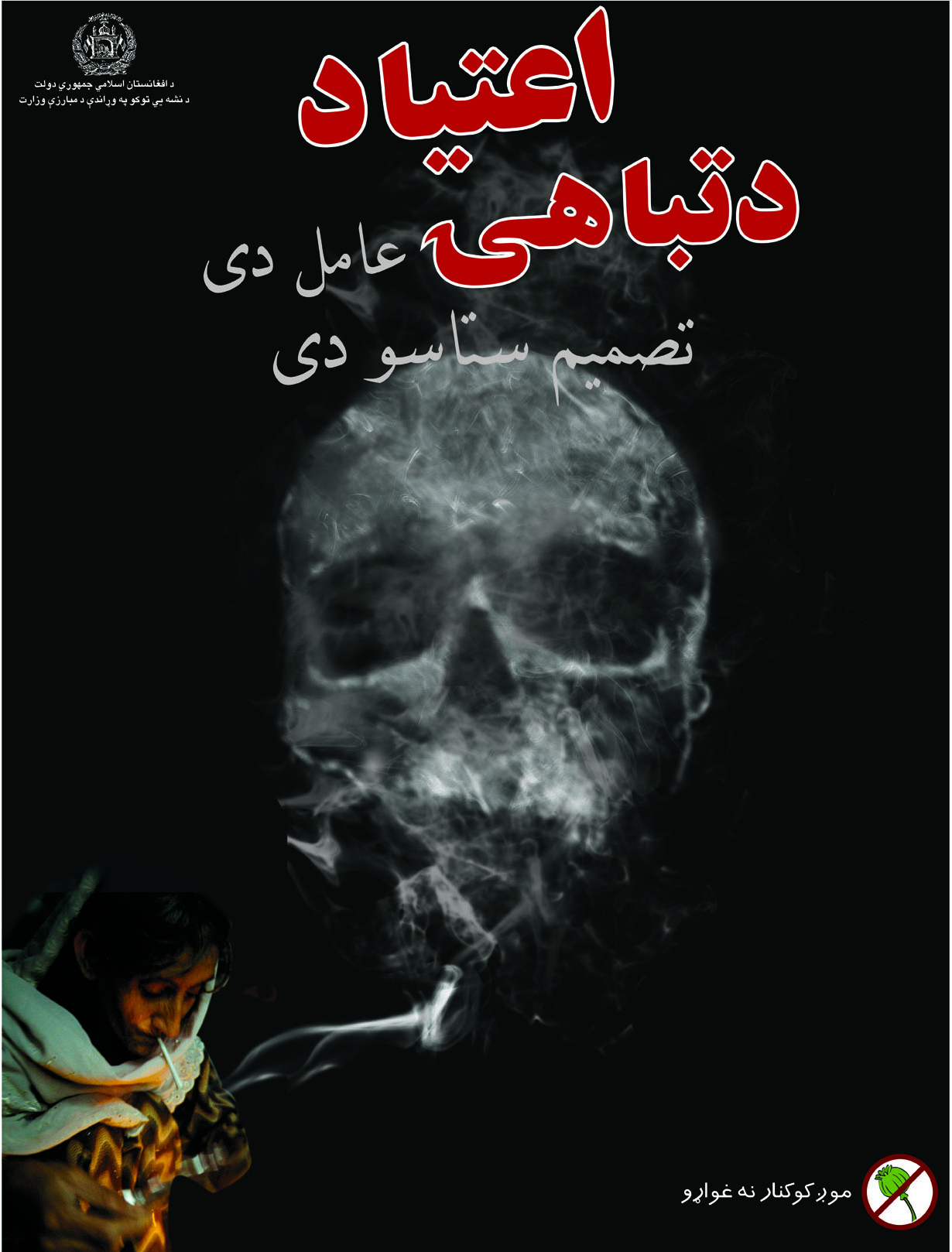 Counter Narcotic Poster - Afghanistan - 2007