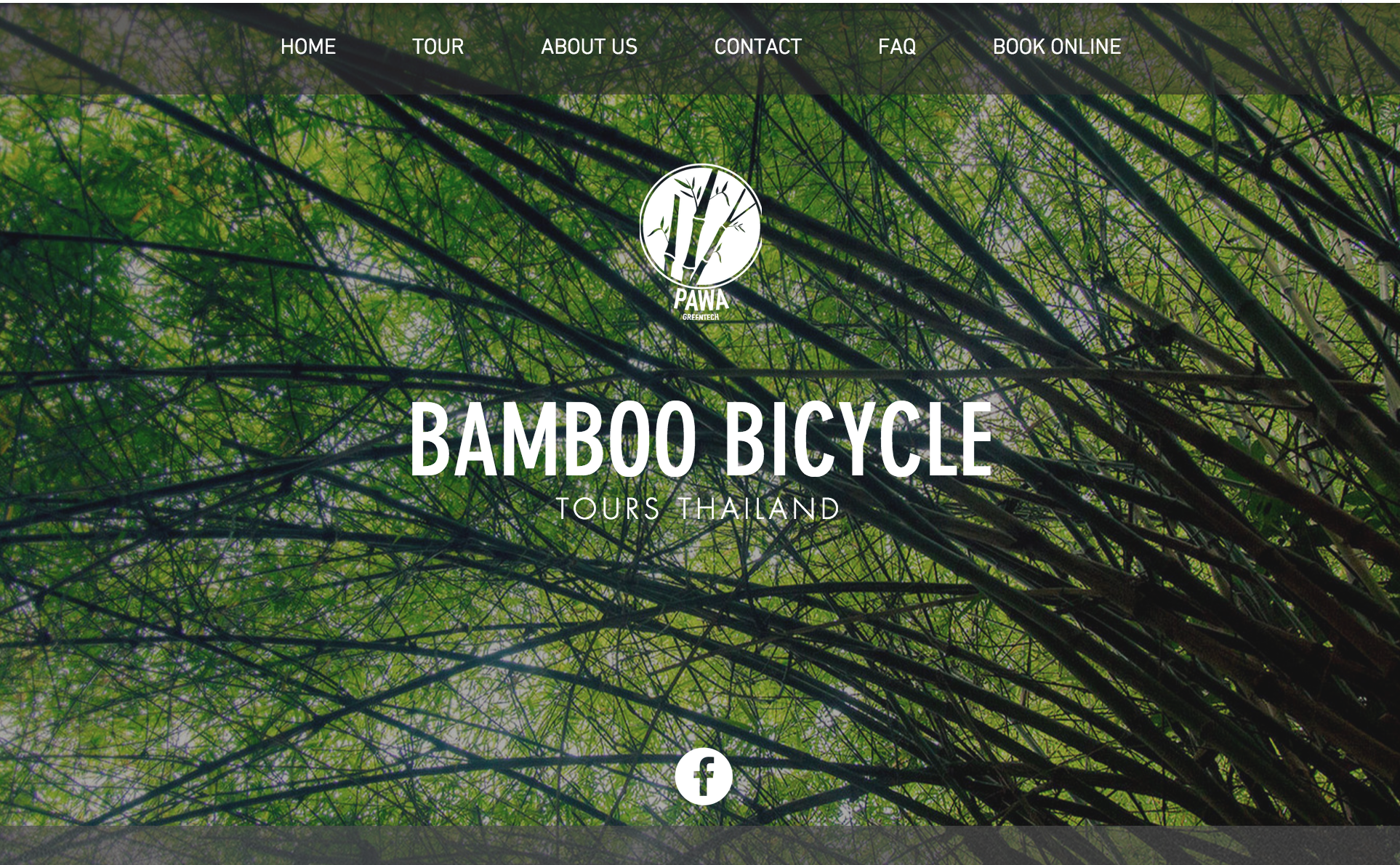 Bamboo Bicycle website