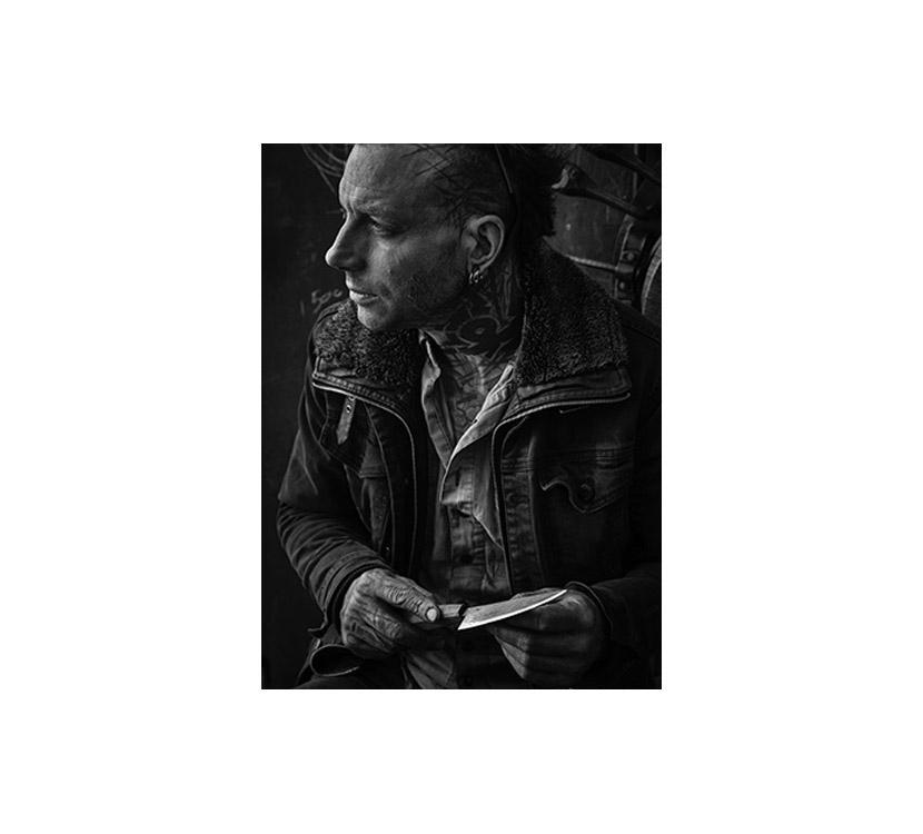 Pete Mattila––artist portrait by Peter Whyte.