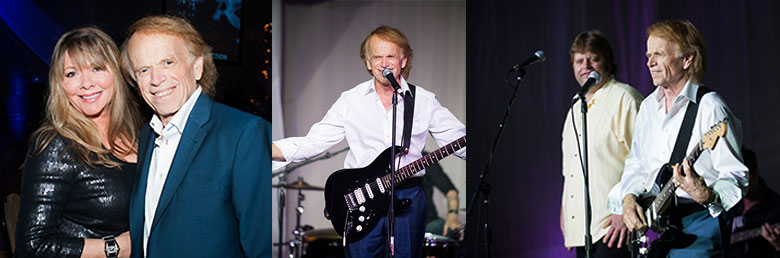 Al Jardine from The Beach Boys performs on stage.