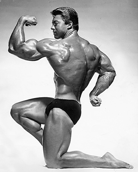 A legacy of iconic physique imagery.
