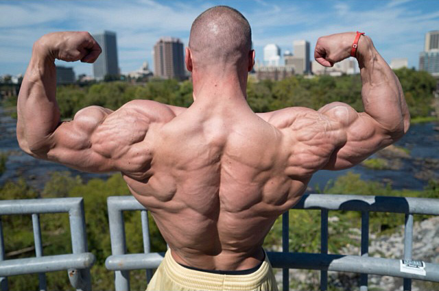 Doug Miller's size and leanness baffle most people's ability to believe he is drug free.
