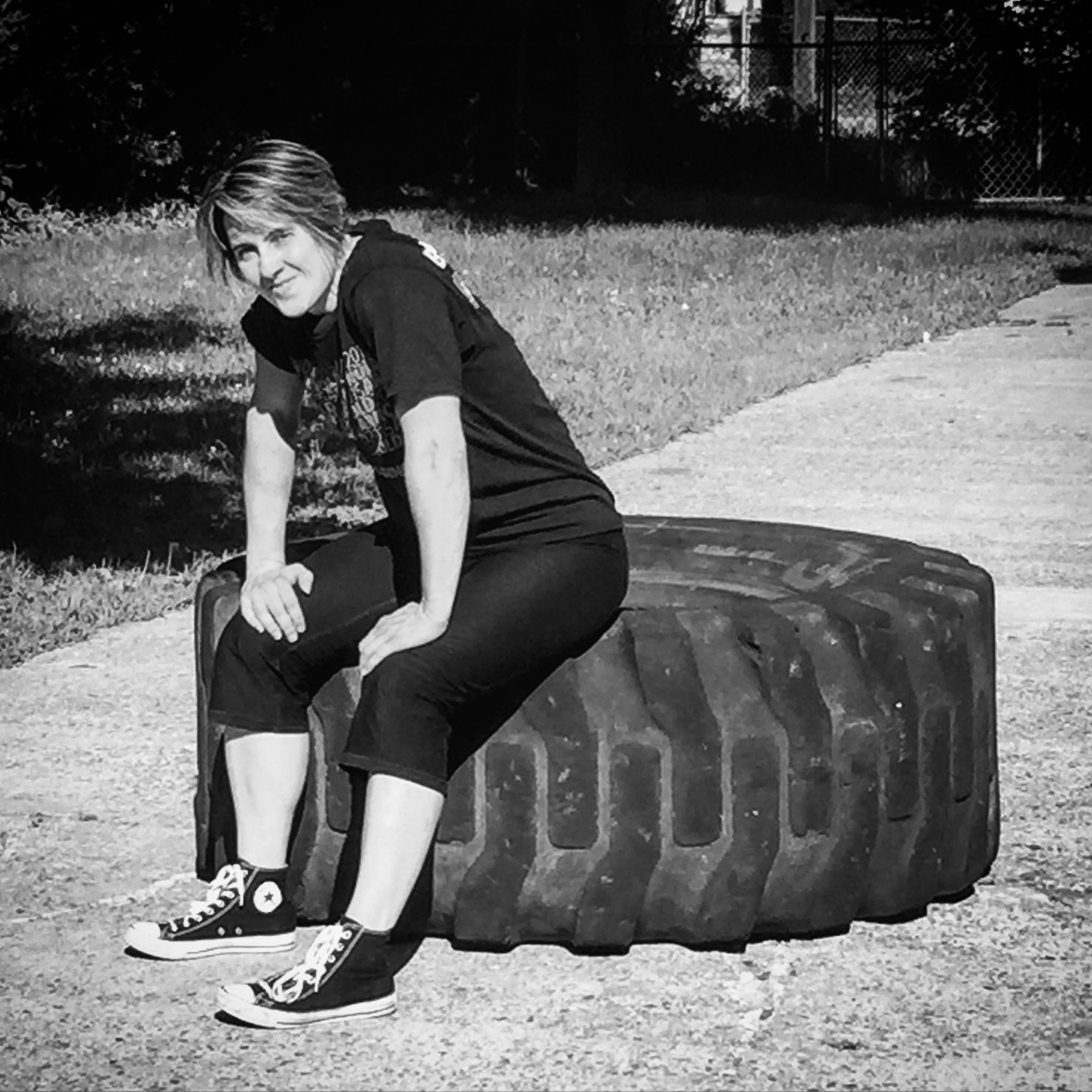 """Even while not actively competing, many still regard strongman community leader Gina Melnik (Next Level Resource and  alumnus from  The Drive(n) ) as a """"competitive athlete."""""""