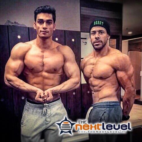 #Offseason begins for @bhaduakshay with teammate @jflex_9.  Time to get big with #ThePowerOfTeam!  #bodybuilder #bodybuilding #mostmuscular #pump #TheGainsBrah #aesthetic #KnowYourReasons #FindTheWhy #TheoryOfJoy #aesthetic #physique #natty #naturalbodybuilding #pecs #shoulders #gymgoals #LiftYourPassion #JoinYourTeam