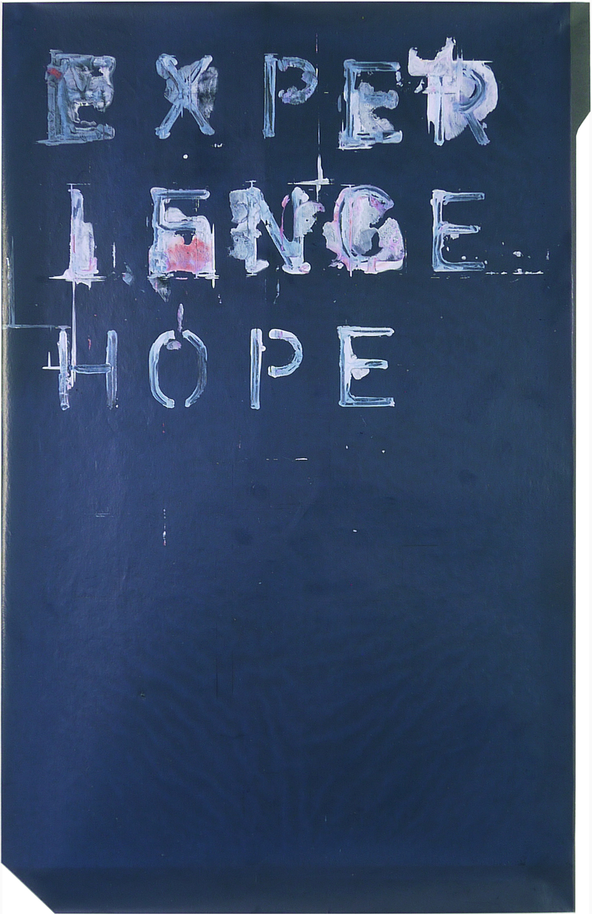 experience hope  8.5 x 14 inches  jiffy on carbon paper  ed. 1