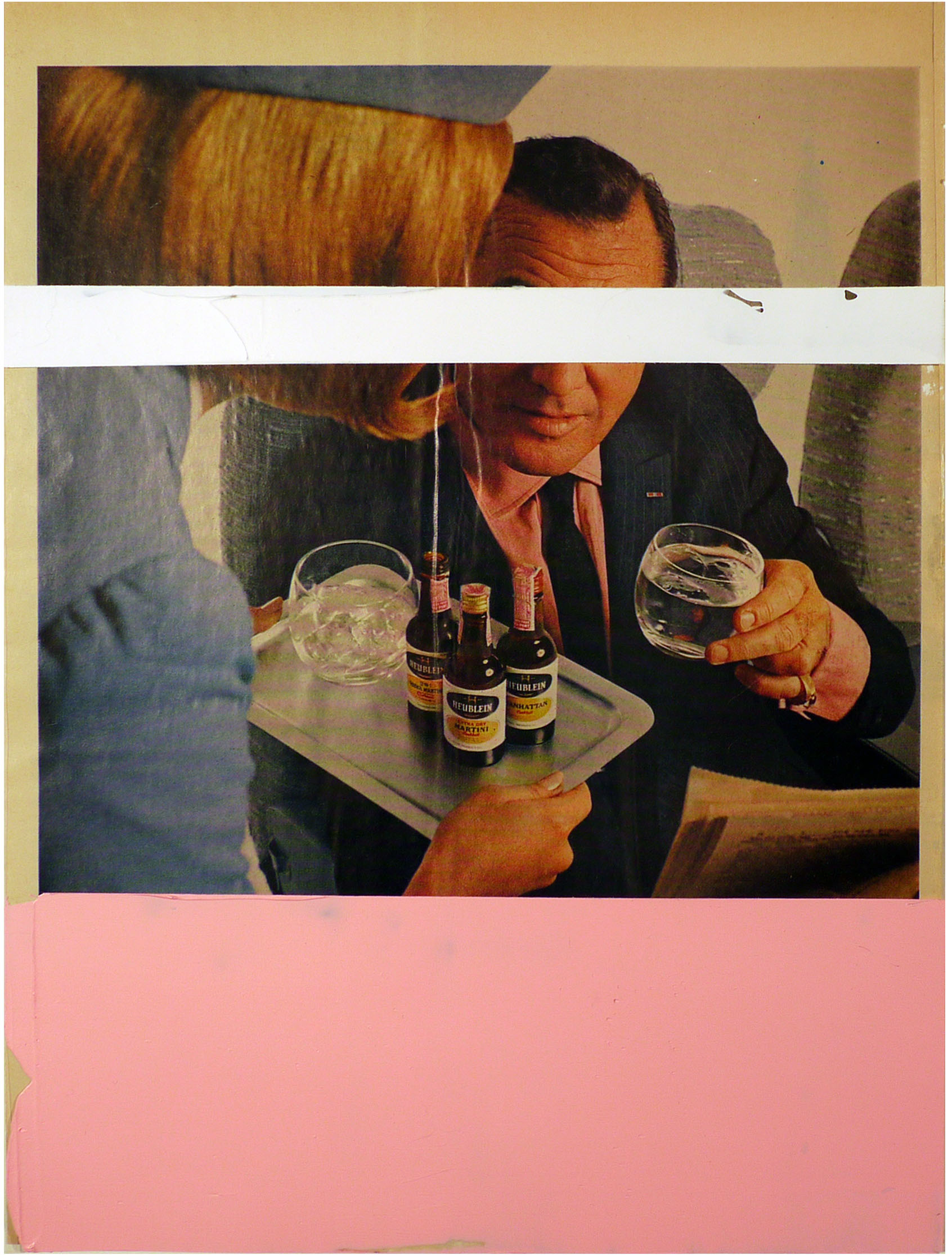 the good stewardess  10 x 13.5 inches  acrylic duralar paper