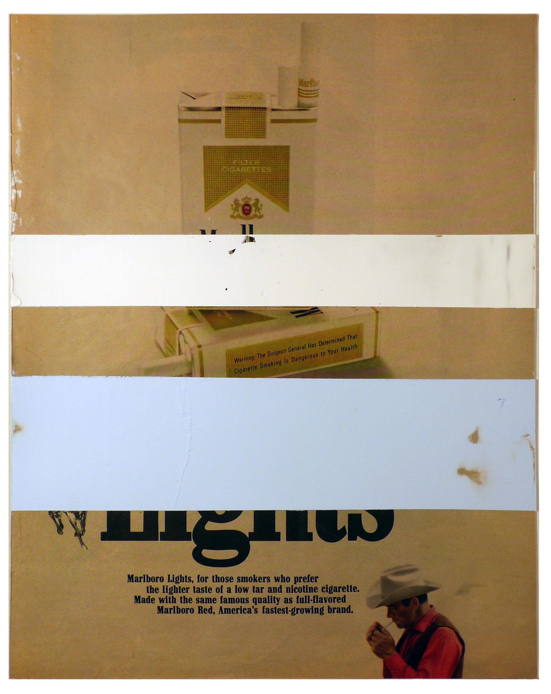 cowboy  10.25 x 13 inches  acylic duralar paper