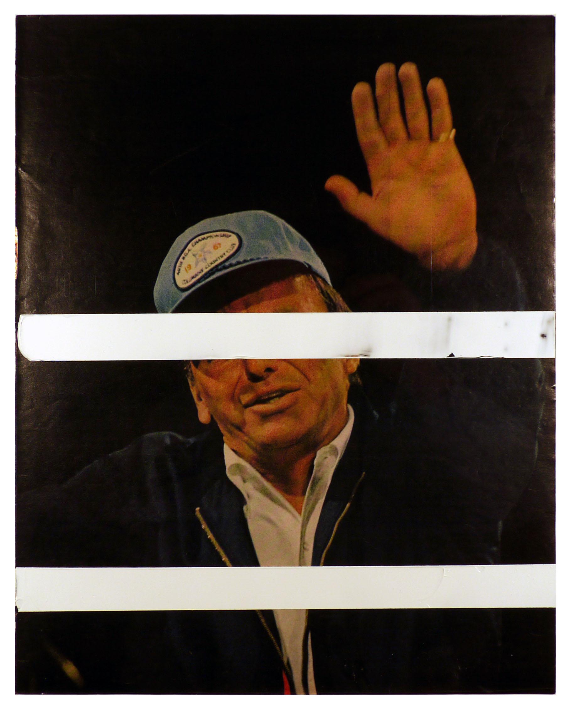 frank  10.25 x 13 inches  acrylic duralar paper