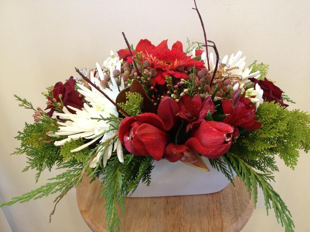 Festive Florals - $120