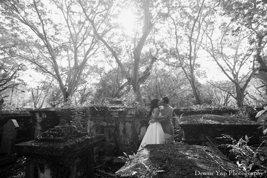 Robin bekky pre wedding penang lone pine st francis graveyard botanic garden jetty dennis yap photography-21.jpg