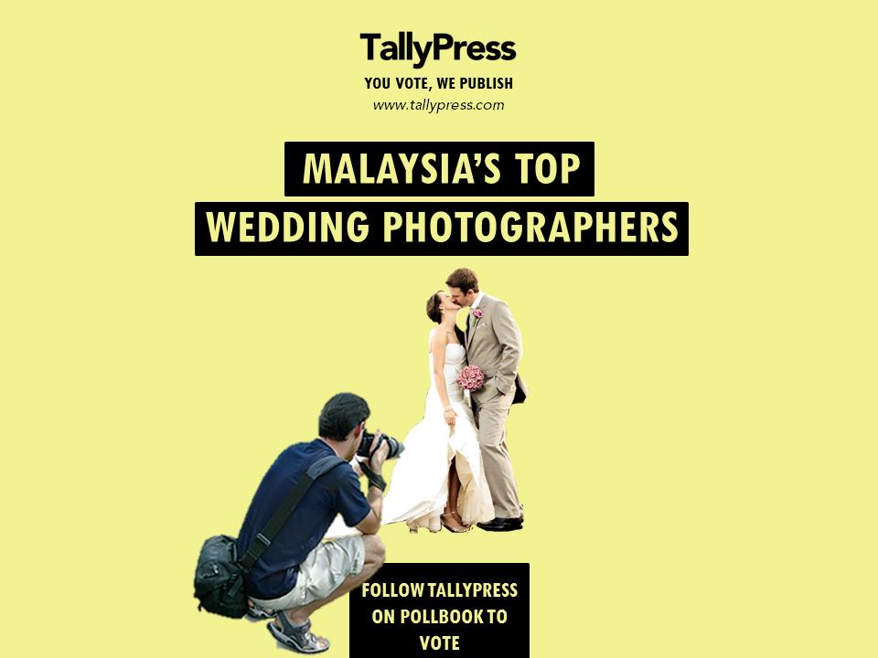 Malaysia Top 10 Wedding Photographer by Tally Press