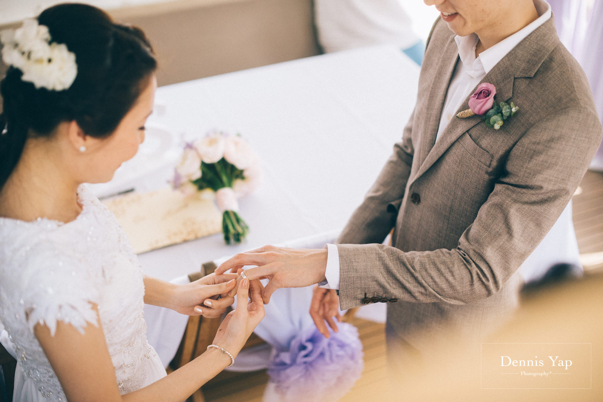danny sherine wedding reception registration of marriage yacht fun beloved sea dennis yap photography malaysia top wedding photographer-20.jpg