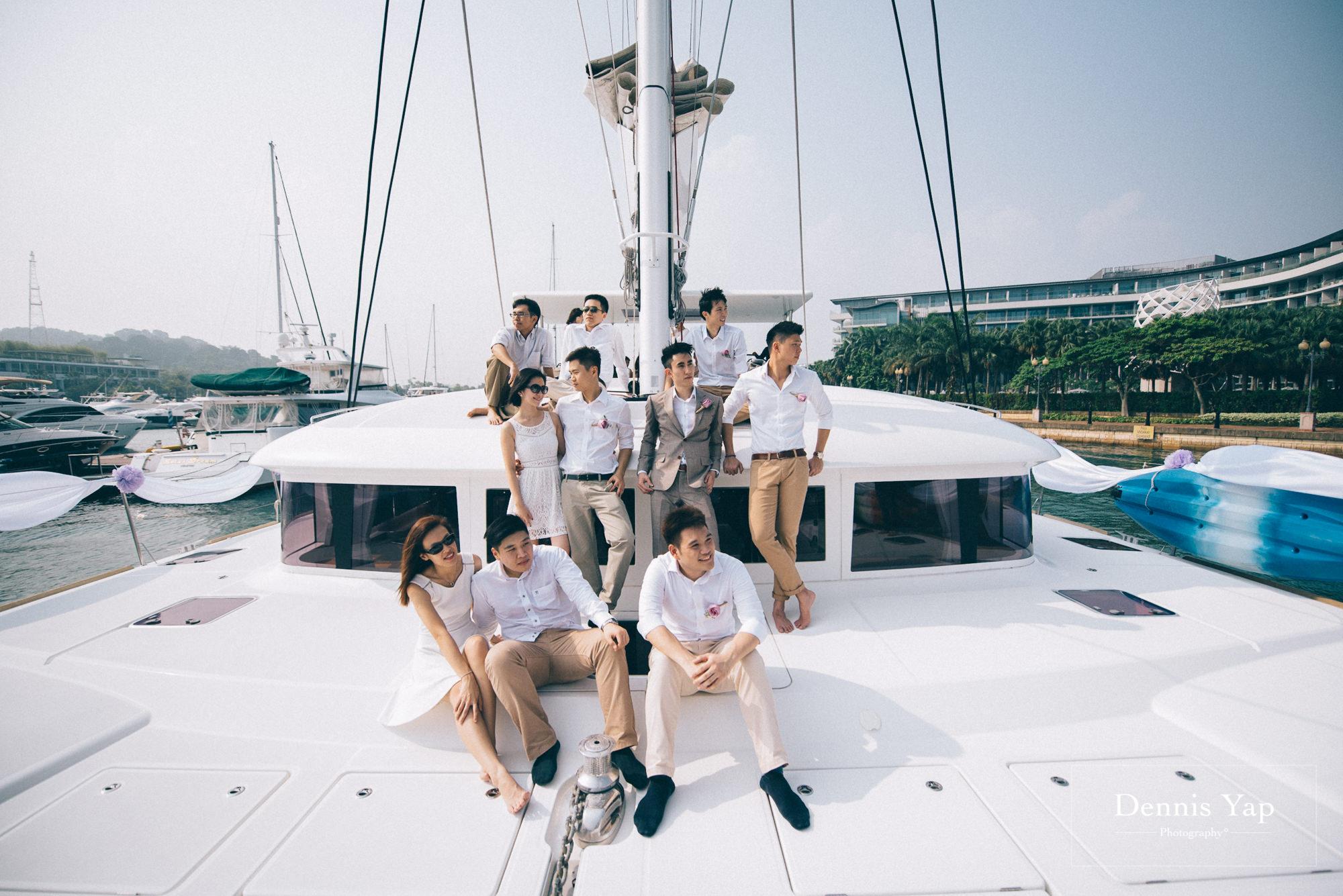 danny sherine wedding reception registration of marriage yacht fun beloved sea dennis yap photography malaysia top wedding photographer-25.jpg