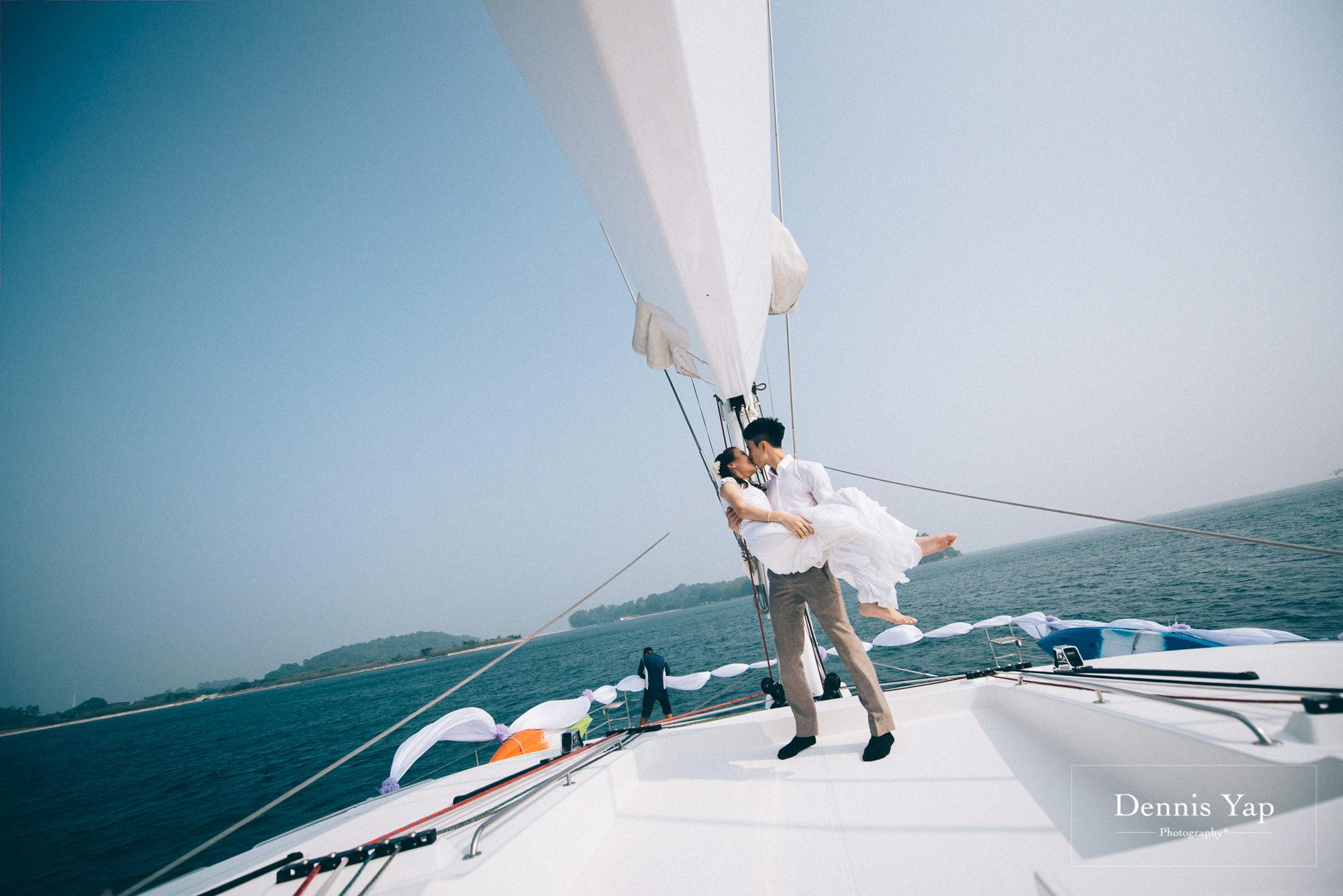 danny sherine wedding reception registration of marriage yacht fun beloved sea dennis yap photography malaysia top wedding photographer-26.jpg