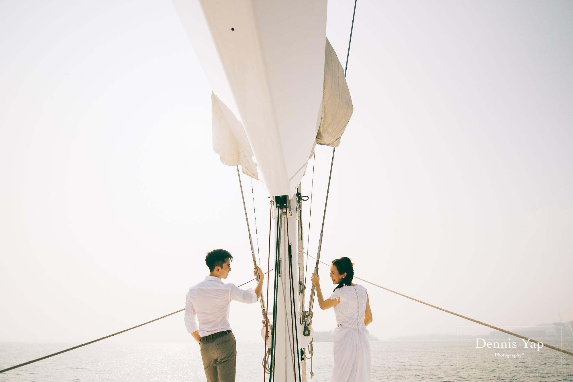 danny sherine wedding reception registration of marriage yacht fun beloved sea dennis yap photography malaysia top wedding photographer-28.jpg