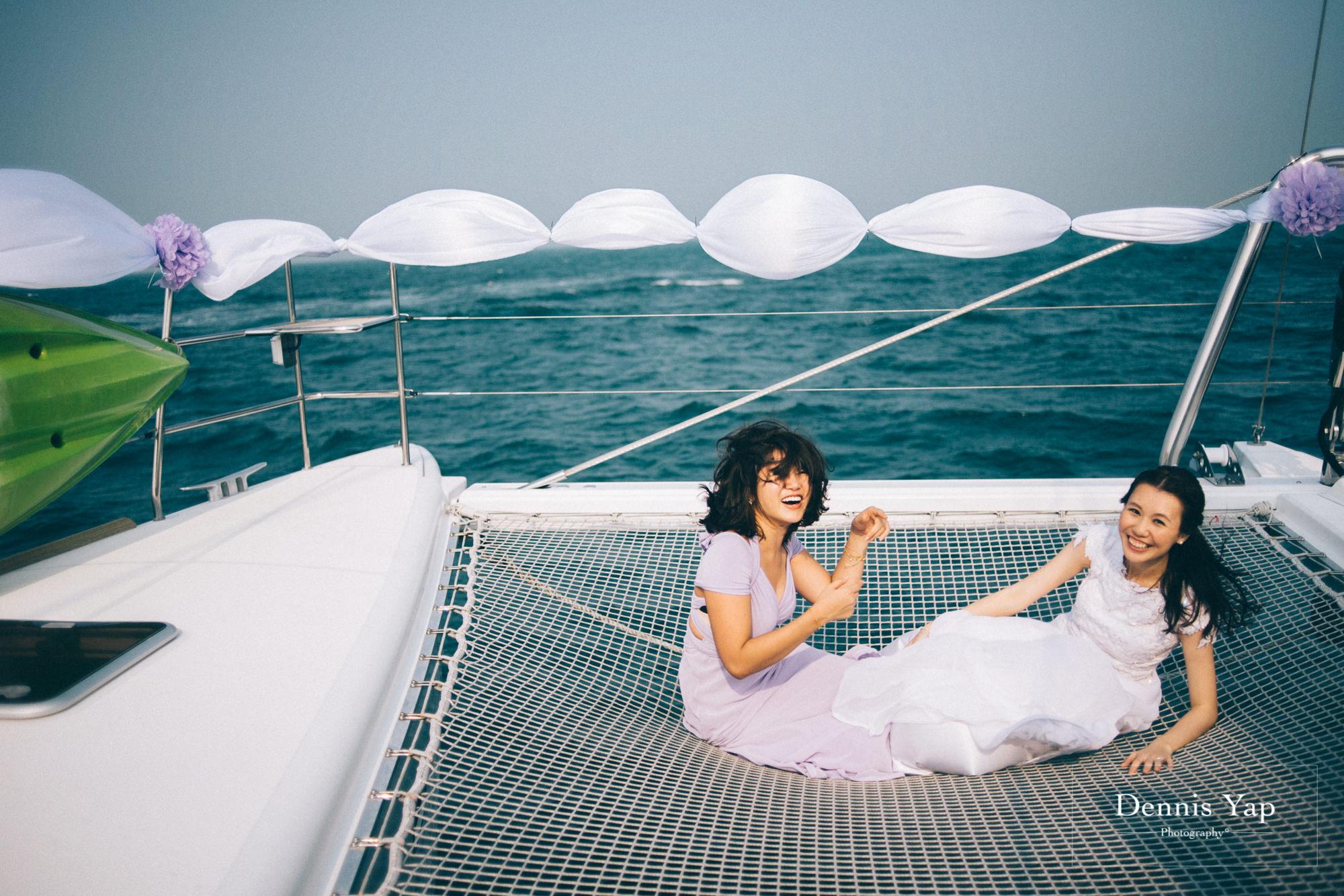 danny sherine wedding reception registration of marriage yacht fun beloved sea dennis yap photography malaysia top wedding photographer-30.jpg