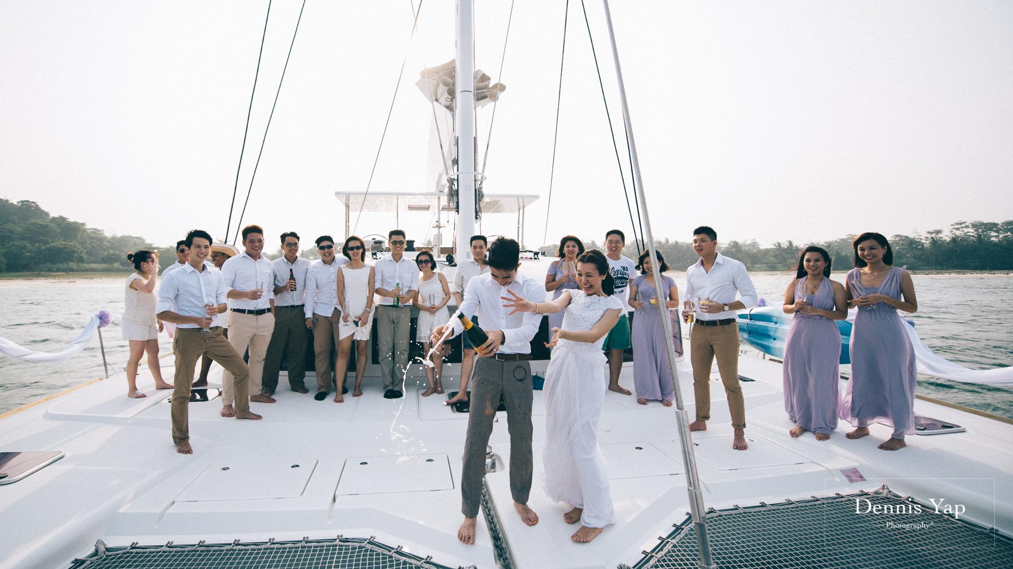 danny sherine wedding reception registration of marriage yacht fun beloved sea dennis yap photography malaysia top wedding photographer-32.jpg