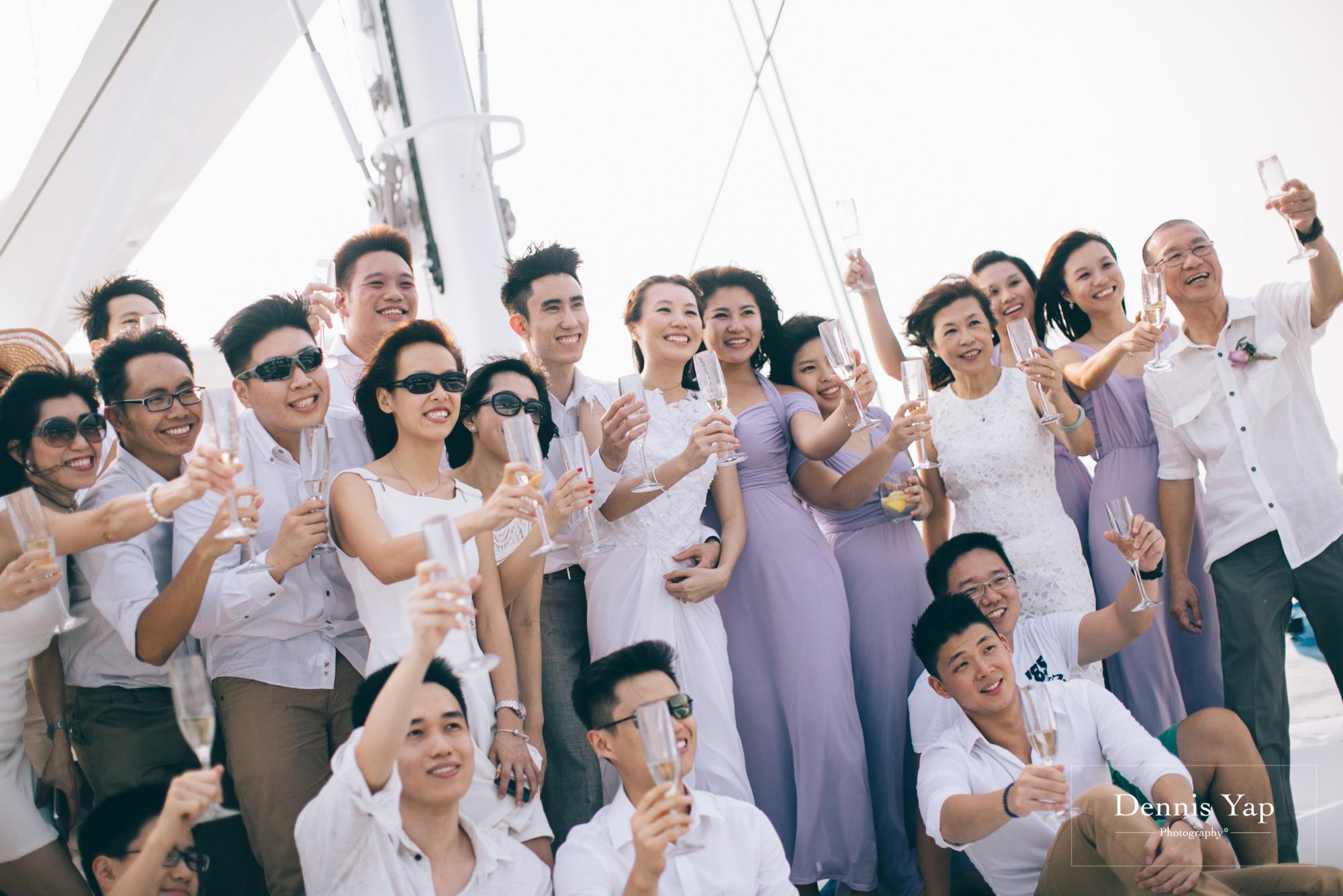 danny sherine wedding reception registration of marriage yacht fun beloved sea dennis yap photography malaysia top wedding photographer-33.jpg