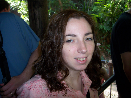 Disney World 2005 - with full brows and lashes and no makeup after months of not pulling. Looking at this photo reminds me that if I did it once - I can do it again! Celebrate the successes and never give up hope.