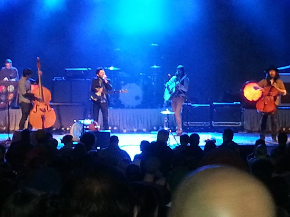 The Avett Brothers live in Lewiston, NY 5/24/13. Photo by Marcus Smith.