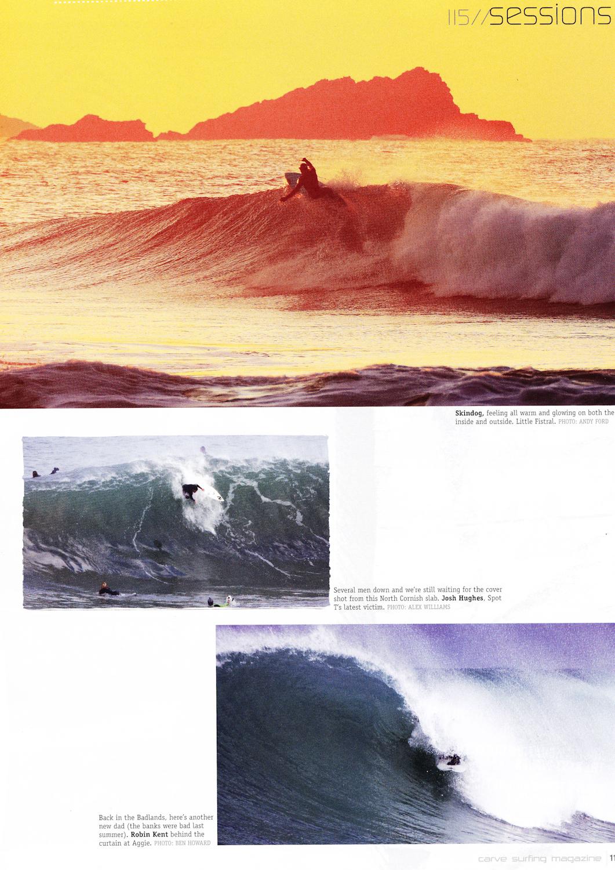 Ben Skinner / Carve magazine