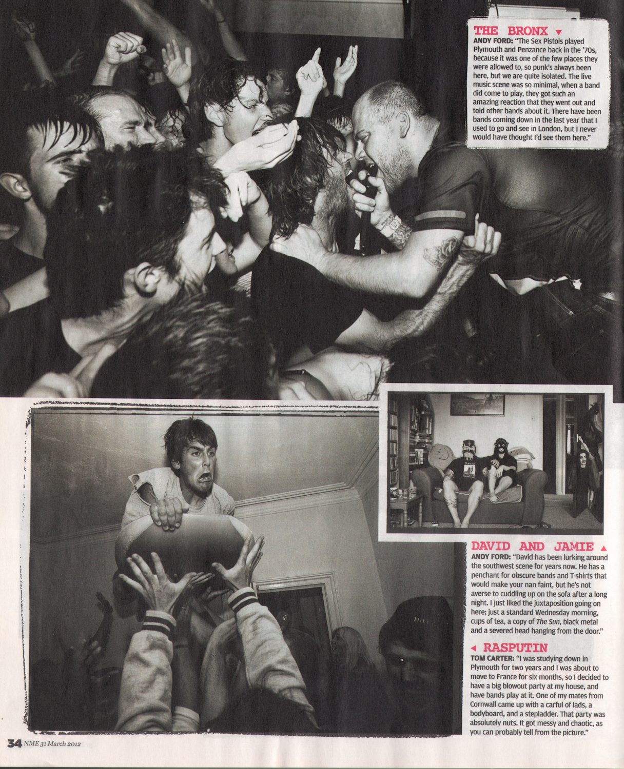 South West Underground / NME