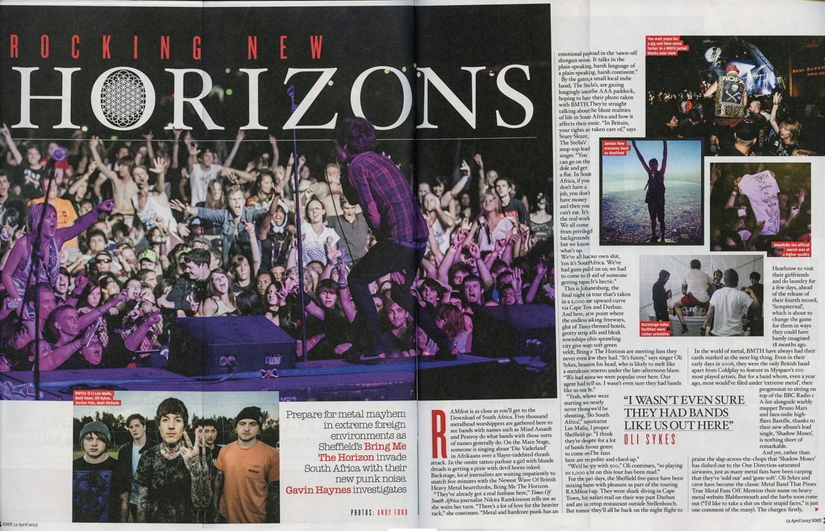 Bring Me The Horizon/NME
