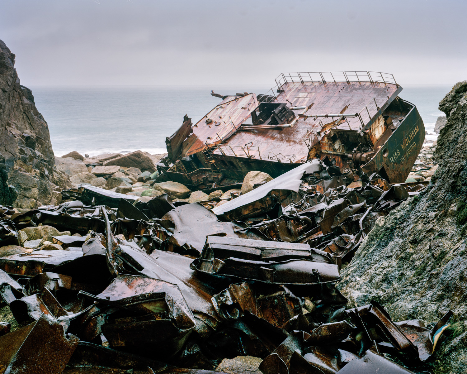 Wreck of the RMS Mulheim