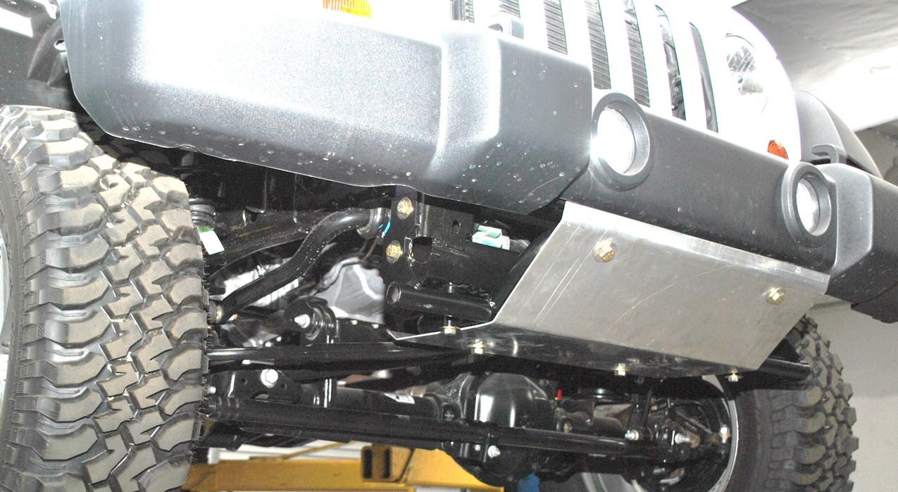 2012-13 Jeep front skid