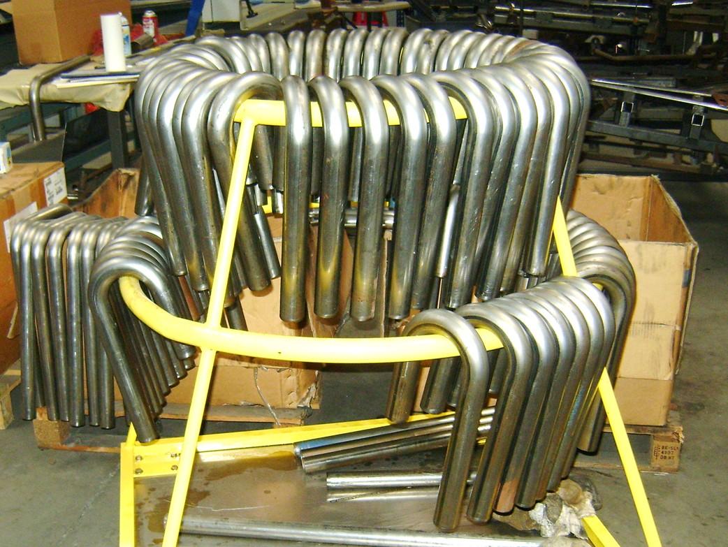 Tube drying rack