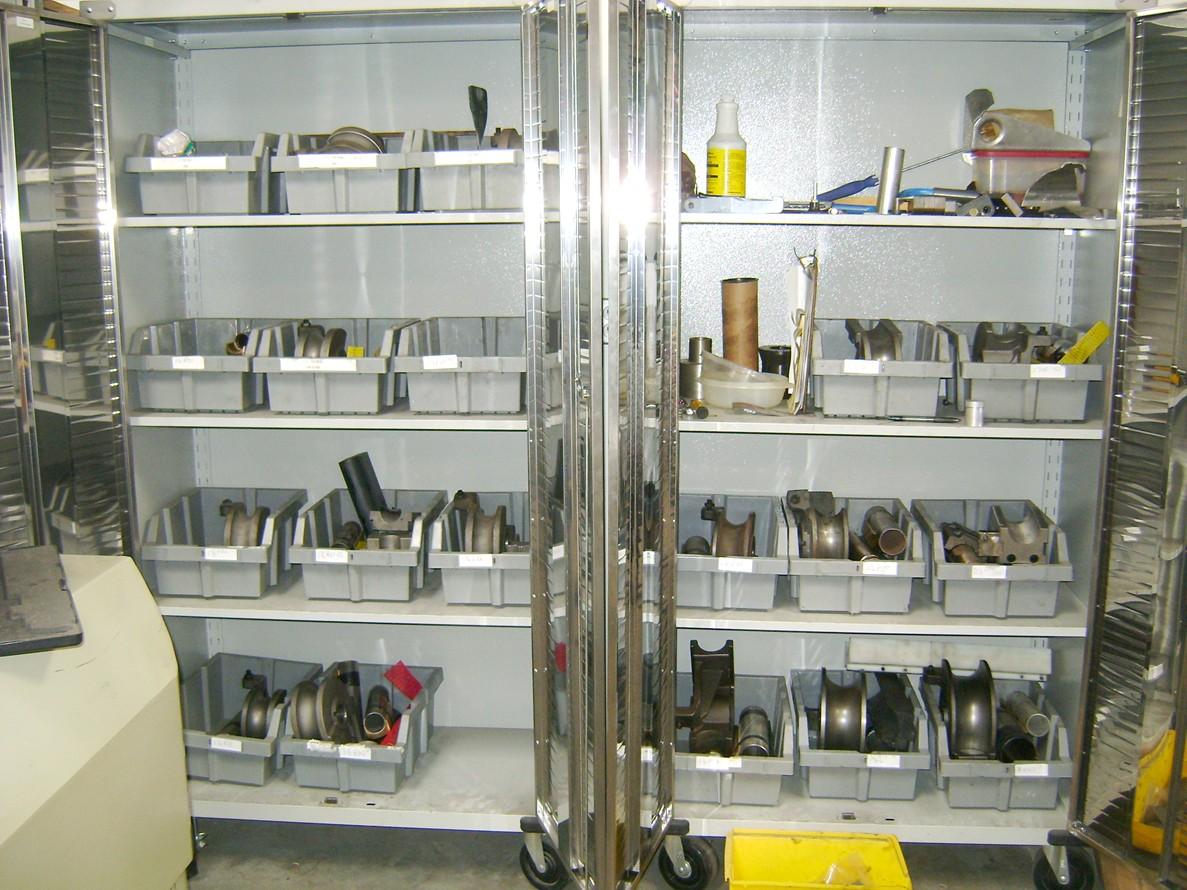 Mandrel & Bend Die cabinets