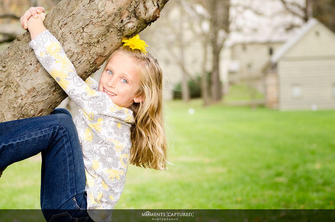 Kendra the Tree Climber