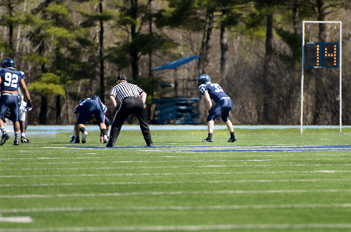 My Little Brother plays linebacker for the university of Maine Lifestyle Photography