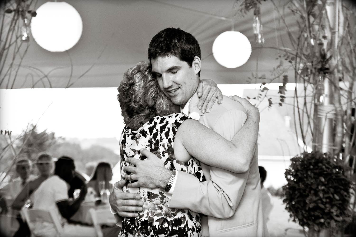 My mom and I after the mother son dance at my wedding.