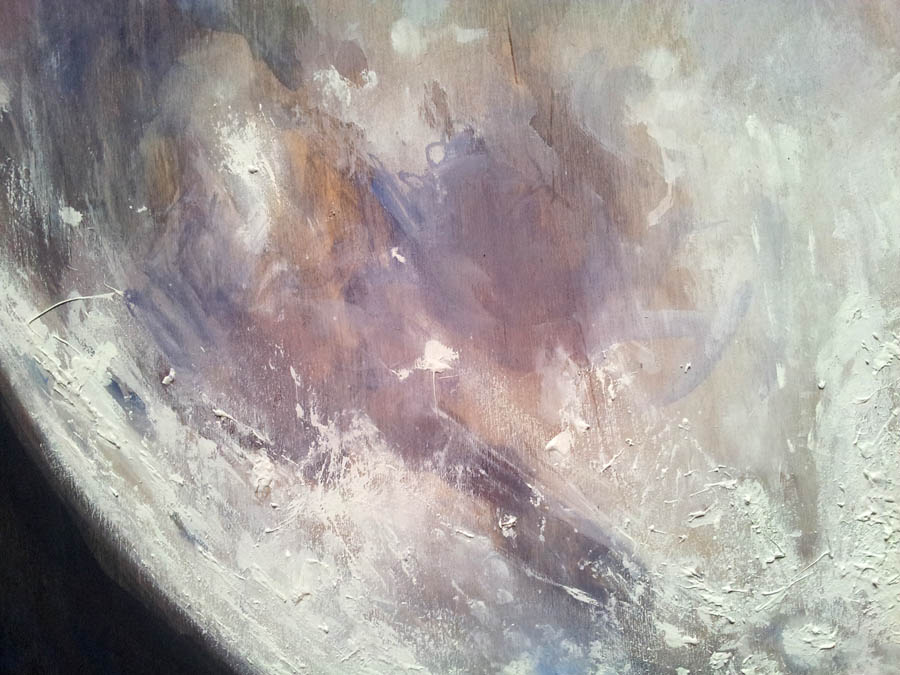 Big Full Moon detail