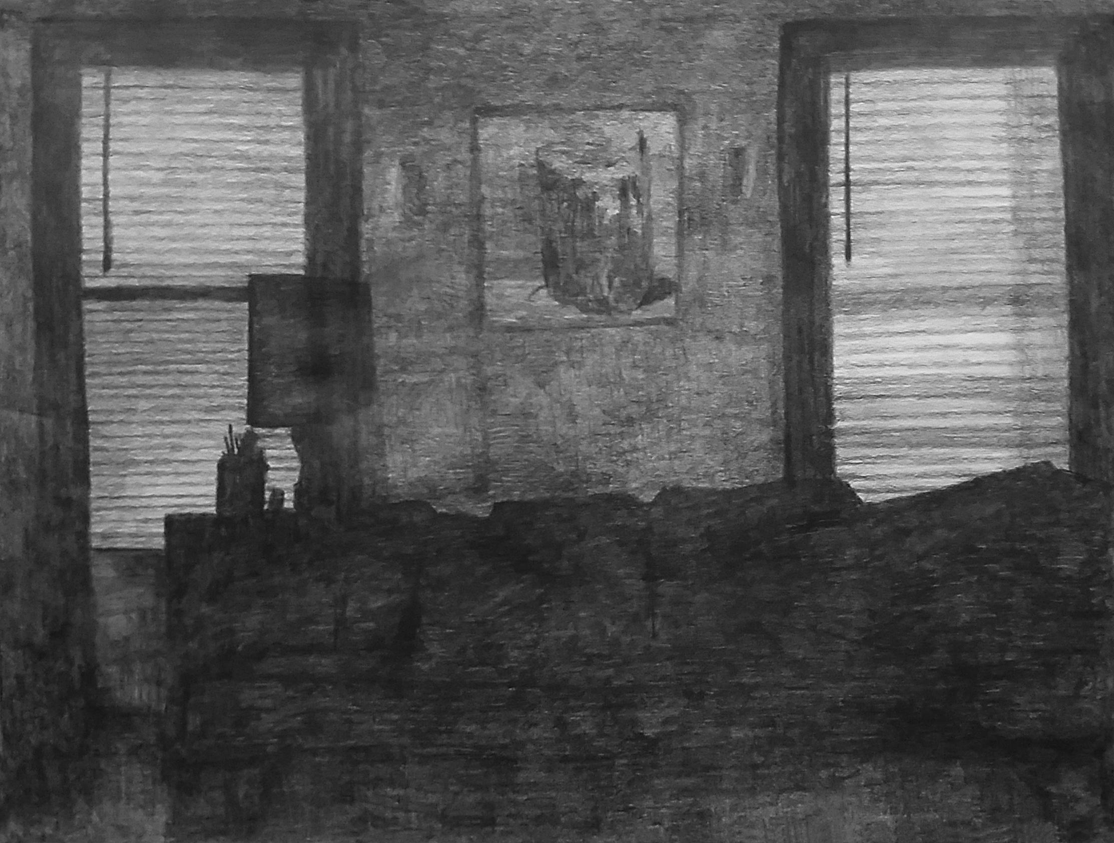 Home Studio at Night