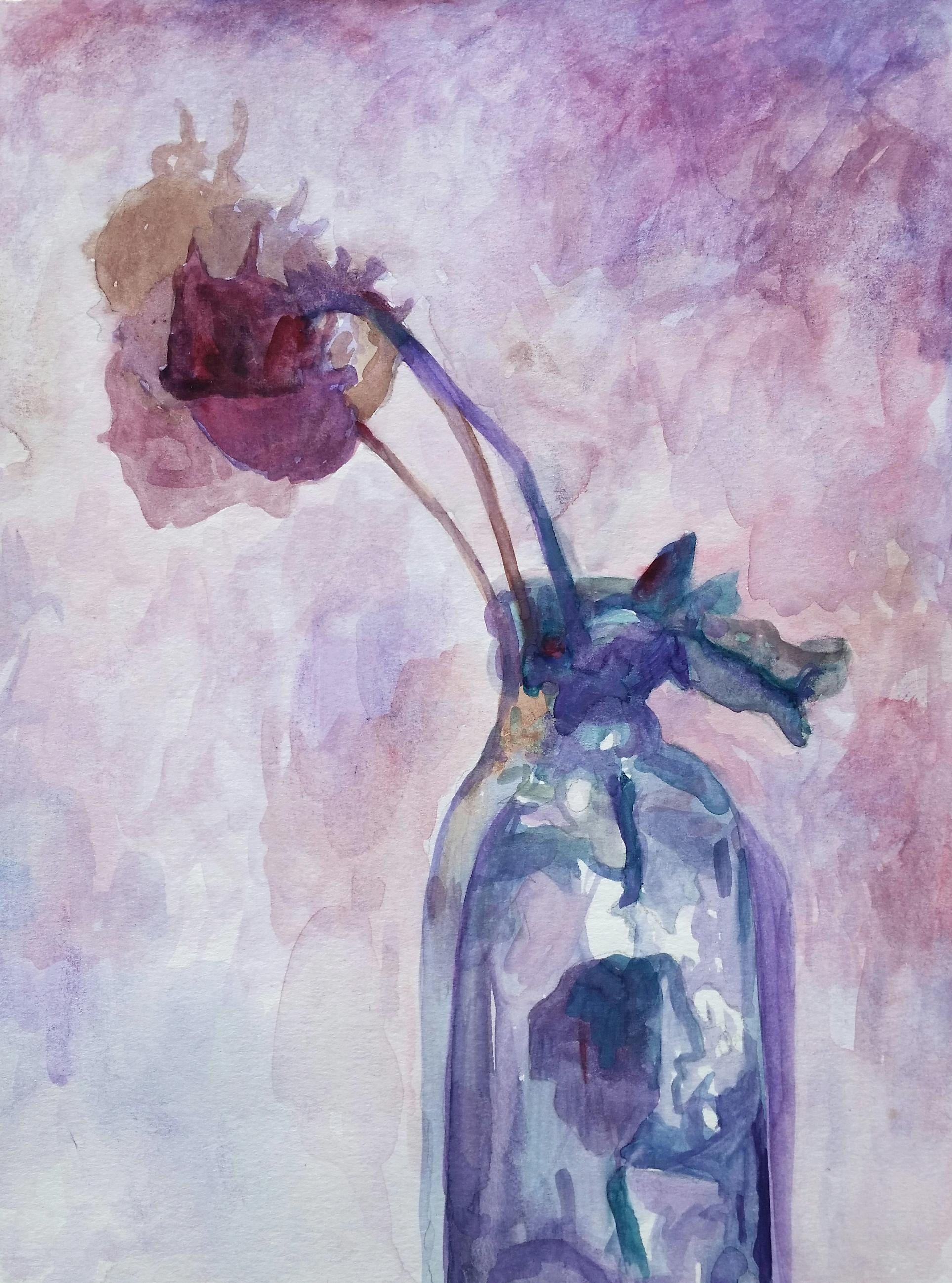 Rose in a Vase 2